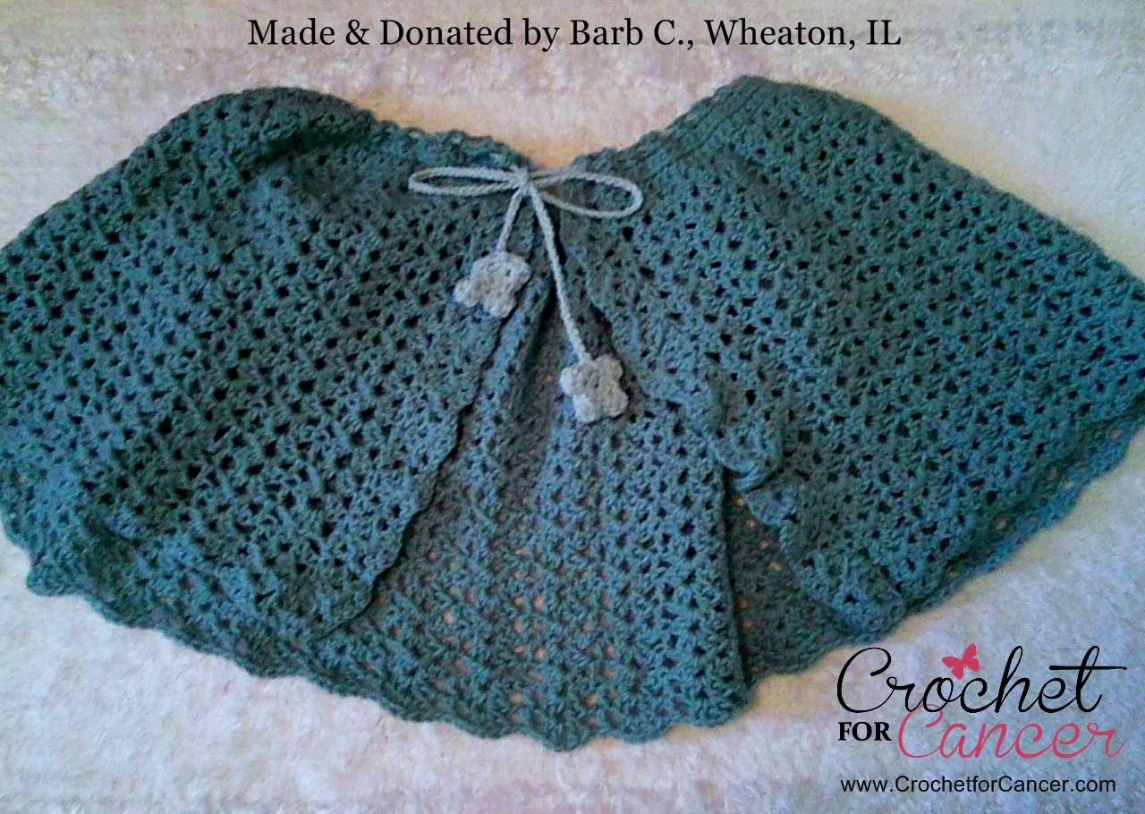 Shawl Donated by Barb C., Wheaton, IL