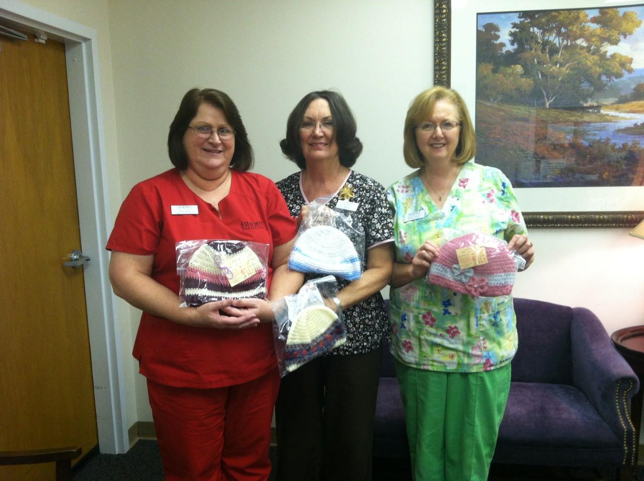 The Wonderful Nurses at Summit Cancer Care, Statesboro, Georgia