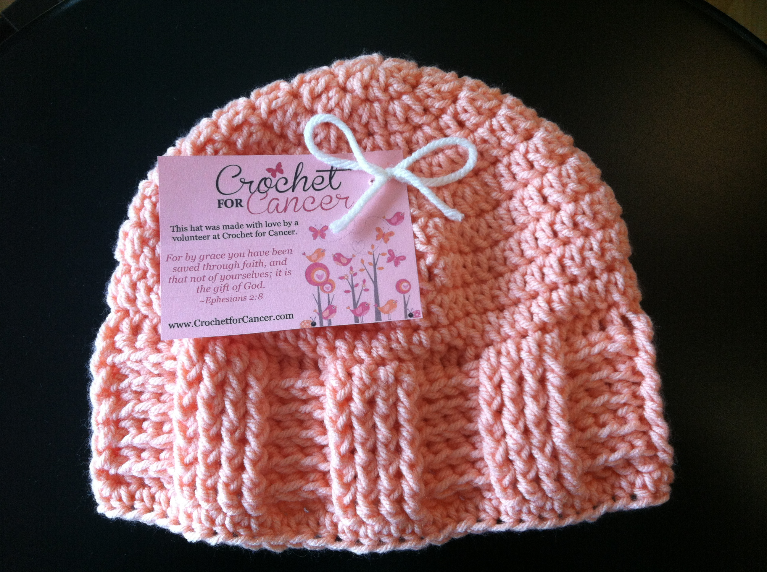 Basket Weave Hat Pattern Free : Crochet for s basketweave vertical stripe cap