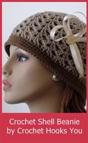 Crochet-Shell-Beanie